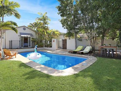 Photo for Contemporary Noosa Heads Beach House, Heated Pool, Walk to Shops/Restaurants