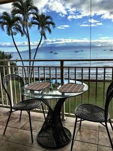 Enjoy breathtaking views while dining outside