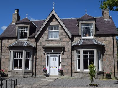 Photo for Granville, Ballater.   Beautiful Victorian 4 bedroom.  Sleeps 8.  PETS Welcome