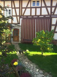 Photo for Cozy apartment in a listed timbered estate