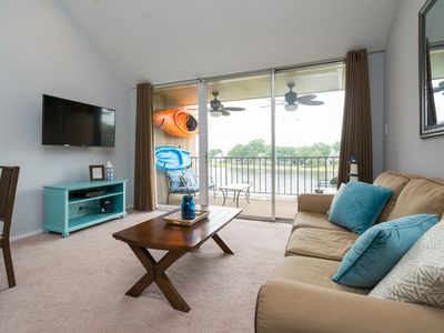 Photo for Lakefront Condo On Lake Conroe - Great Views and Large Unit - Tons to do here!!!