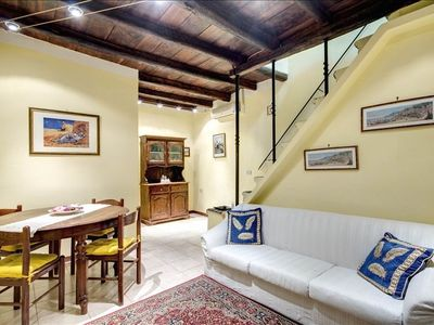 Photo for PF Apartment 2 Bdr- and you're in Piazza Navona