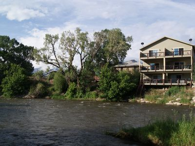 Photo for ON THE RIVER IN SALIDA....Clean and Spacious. Walk To Downtown STR 0266