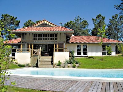 Photo for Moliets Landes Villa 10 pers. Heated Swimming Pool, Near Ocean and Golf
