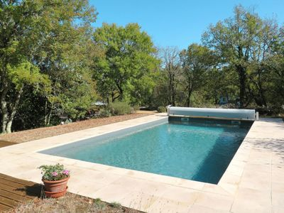 Photo for 2 bedroom Villa, sleeps 5 in Espédaillac with Pool and WiFi