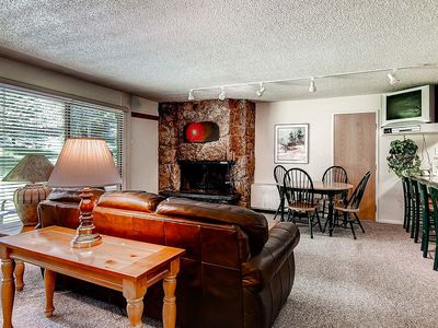 Photo for Cozy Ski In/ Ski Out Condo with Common Area Heated Pool and Hot Tub