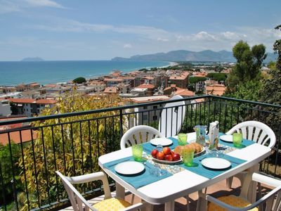 Photo for Sperlonga Apartment, Sleeps 7 with Air Con and WiFi