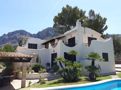 Photo for Beautiful Country House with Pool, Garden, Terrace, Balcony & Wi-Fi; Parking Available