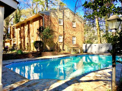 Photo for Spacious Open Home*PrivatePool*HotTub*BBQ*Foosball-Close To Airport&Downtown