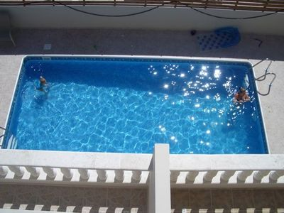Photo for Spacious, non complex 2 bedroom villa with pool. Can sleep 5.
