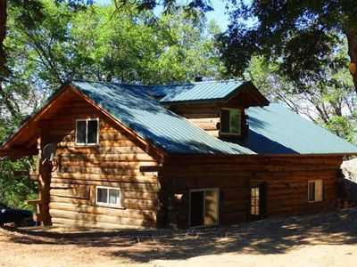Ponderosa Log Cabin Sleeps Six Max Palomar Mountain