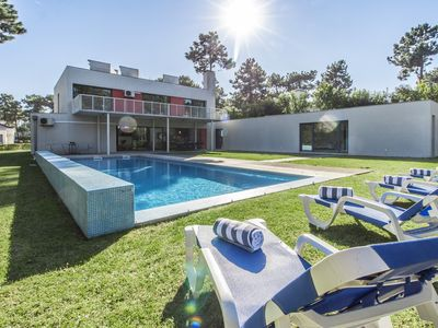 Photo for Modern villa for 8 persons, with garden, swimming pool (12m x 5m).