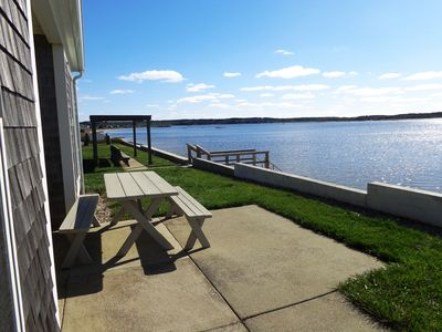 Photo for Beach front Cottage, close to downtown - Private Beach and Great Water views