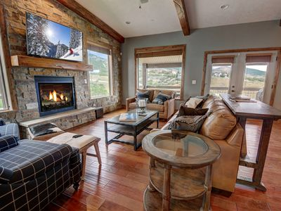 Photo for 3200 SF! Views of Deer Valley & Jordanelle Lake -Pvt Hot Tub-Theater Room