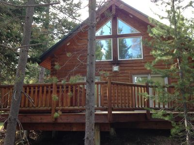Photo for Log Cabin in Island Park, Idaho for Adventurous Get Away.