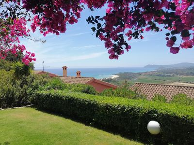 Photo for detached house with stunning sea views over the bay of St. right