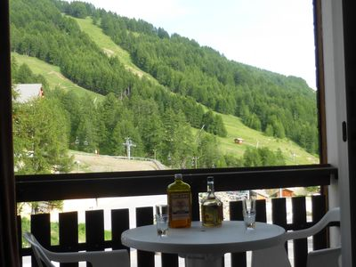 Photo for 2 PIECES BALCONY PANORAMIC VIEW / MOUNTAIN 100m LUGE PROMO June / July
