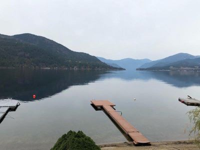 Photo for New Listing! 105 ft of lakefront on beautiful Christina Lake