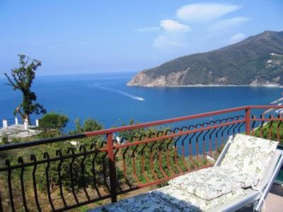 Photo for Sea and mountains. At 100 m. on the sea, duplex apartment with stunning views