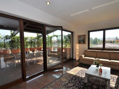 Photo for Villa with large terrace, garden and private pool