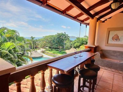 Photo for Tamarindo Diria 204 -  Ocean View Condo with Large Terrace! Updated in 2018