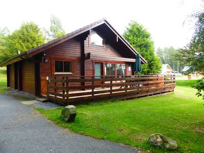 Photo for Lady Galloway Lodge 27 with Hot Tub,Newton Stewart