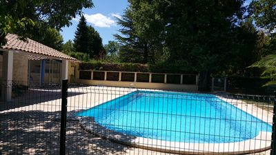 Photo for quiet holiday: green, swimming pool and comfort. Near the tourist centers.