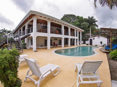Photo for Amazing Beachfront Villa with Private Pool and Stunning Ocean Views