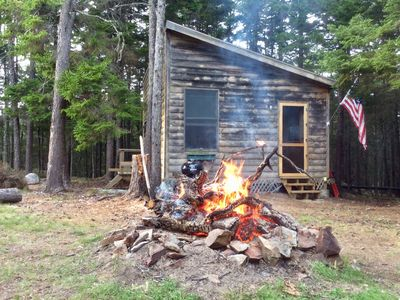 Secluded And Rustic Island Cabin On The Bold And Rocky Penobscot Bay Coast...