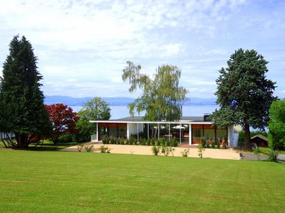 Photo for 4300 Sqft, Stunning Views of Lake Geneva, 300 m from 5-star Royal Hotel