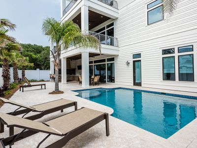 Photo for Seagrove! Private Heated Pool! Unobstructed GULF VIEWS!
