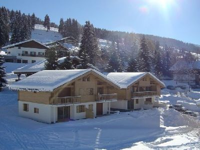 Photo for Charming apartment, 6 pers' Savoyard style '', situated on the slopes