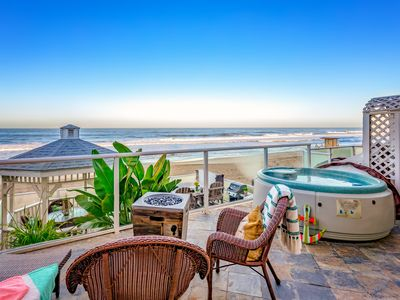 Photo for 6br, 6.5ba Beachfront Vacation Rental in Downtown Carlsbad