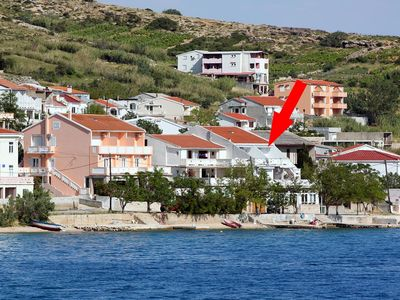 Photo for Apartment in Metajna (Pag), capacity 4+0