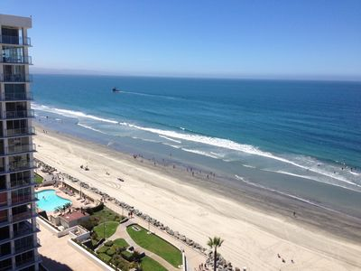 Photo for OCEAN FRONT - 14th Floor- LA SIERRA - BEST BUILDING -CLOSEST To The Hotel DEL