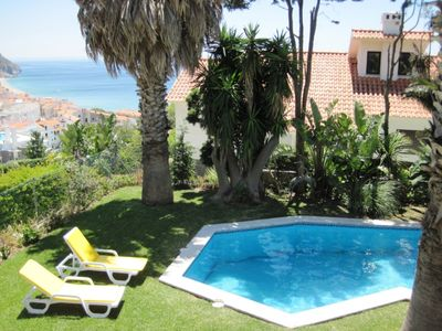 Photo for RENT4REST SESIMBRA 4BDR OCEAN VIEW AND PRIVATE POOL VILLA