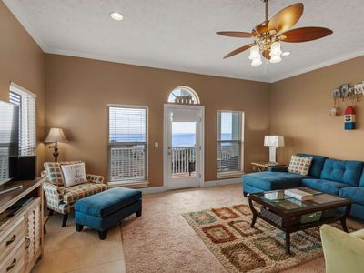 Photo for Beautiful home with great views of the Gulf of Mexico located in the heart of PCB. Big Unit in a pri