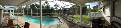 Photo for Tropical Waterfront Home w/ Pool