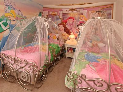 Have a Sweet Dream in Cinderella's Carriage, My Little Princess!