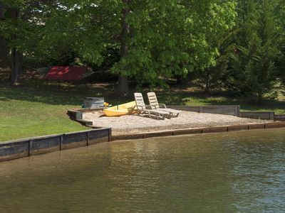 Photo for Sunset Shores is Prime Water front with Hot Tub, Kayak, on Public Side of Lake Anna