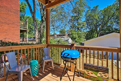 You'll love the ability to unwind on the 2 decks and the backyard.