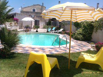Photo for Villa with swimming pool in the places of Montalbano