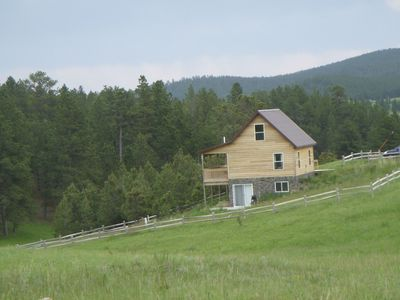 Photo for Black Hills Forest Edge Cabin