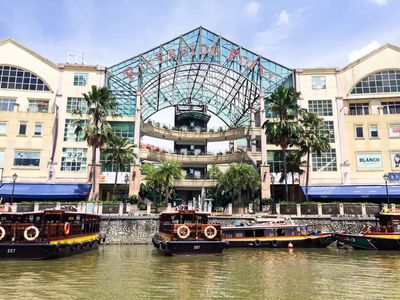 Photo for BY THE ICONIC RIVERSIDE, 1BR @ CLARKE QUAY