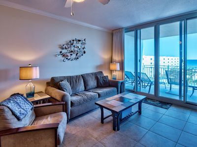 Photo for DIRECTLY ON THE BEACH! GREAT FOR FAMILIES! AVAILABLE NOW 4/4-11!