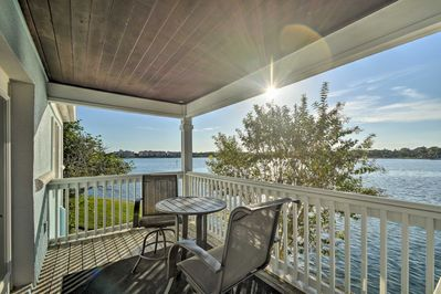The views from this vacation rental condo in St. Petersburg are stunning!