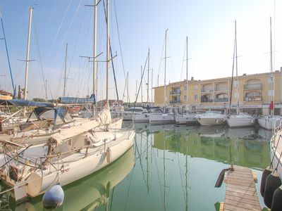 Photo for Flat 4 persons  et  11 m mooring Port Grimaud