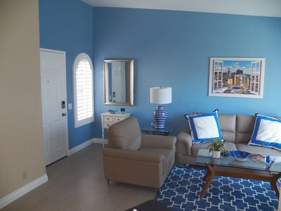 Photo for Totally Remodeled 1 Bedroom Villa Unit Condo - Ground Level With No One Above