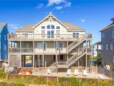 Photo for Exquisite Oceanfront Home- Elevator, Pool, Hot Tub, Game Rm, Dog-Friendly & More