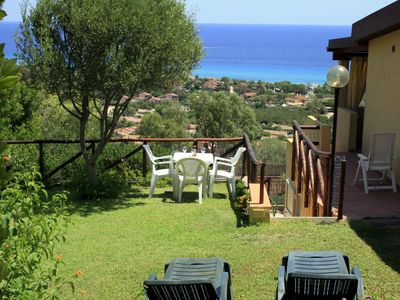 Photo for Costa Rei, house stunning sea views, private garden. Beautiful beaches.